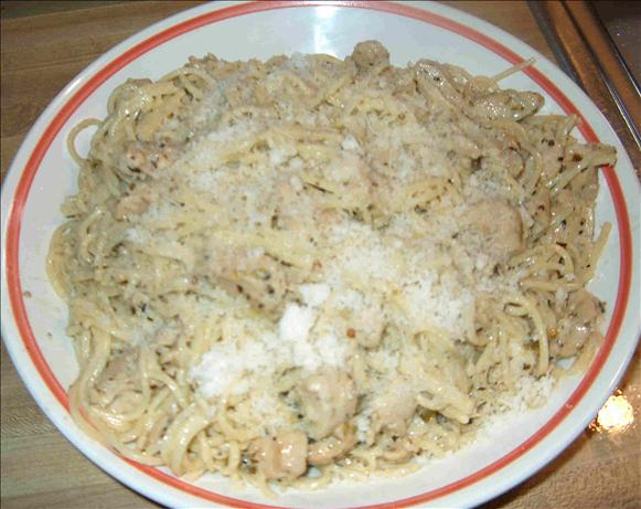 Chicken Scampi With Pasta