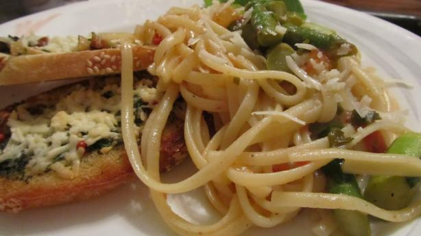 Le Cirque's Linguine With Asparagus