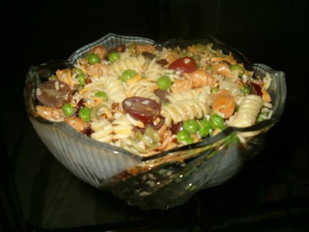 Garlic Pasta Salad With Pecans