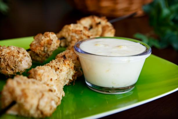 Coconut Chicken With Pina Colada Dip (7 Points Ww)