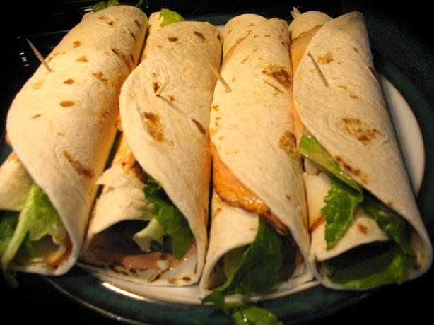 Buffalo Chicken Wrap in a Snap