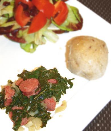 German Style Green Kale (Gruenkohl)