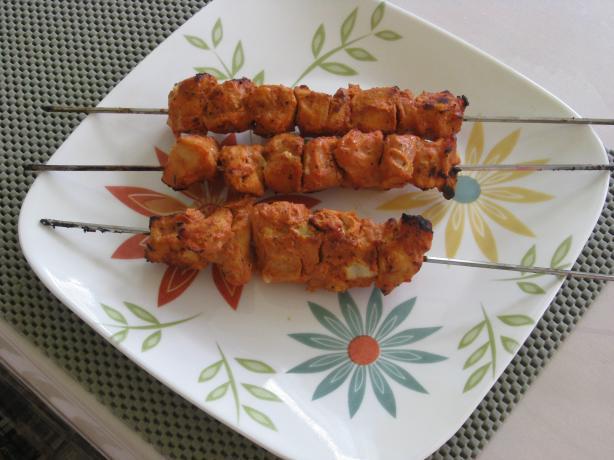 Shish Taouk - Lebanese Chicken Skewers