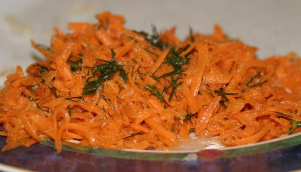 Karottesalat (Carrot Salad)