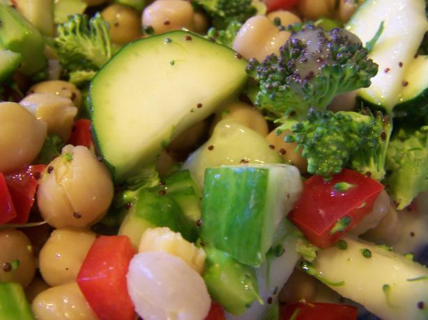 K's Veggie Bean Salad