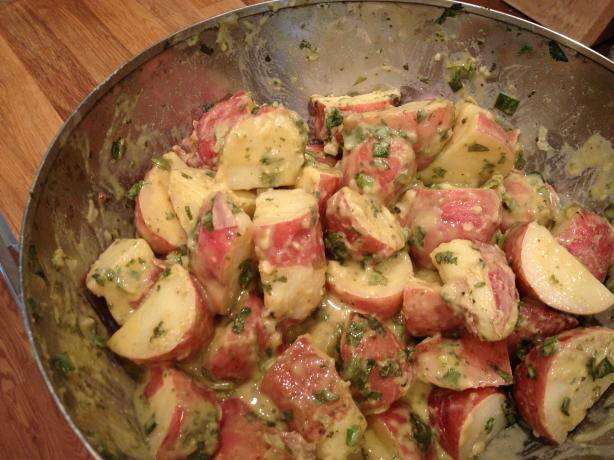 Vegan Red Potato Salad from Whole Foods Cookbook