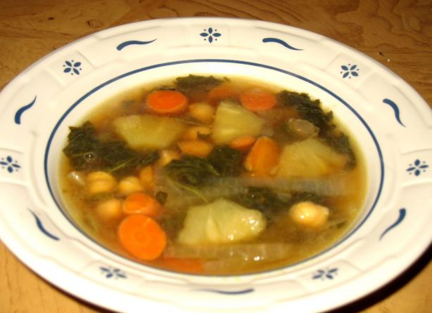 Acadia's Vegetable Soup (Not Vegetarian)