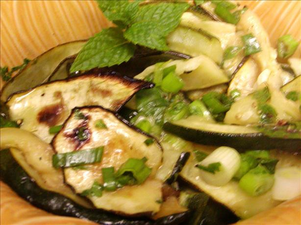 Zucchini and Fresh Mint