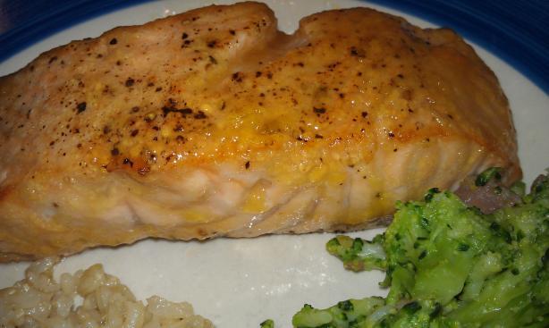 Mango Glazed Fresh Atlantic Salmon