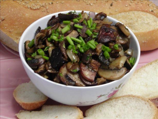 Wild Mushroom Saute