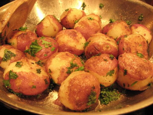 Sautéed New Potatoes With Parsley