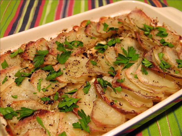 Stilton Potato Gratin