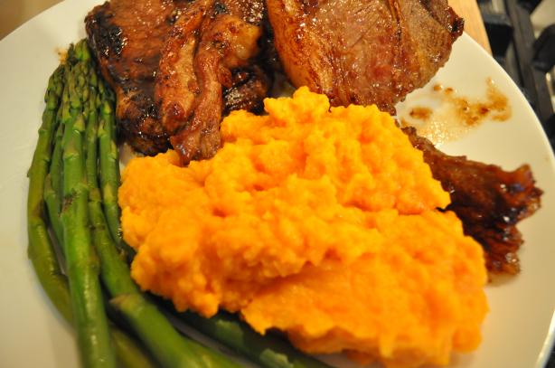 Sweet Potato & Carrot Puree