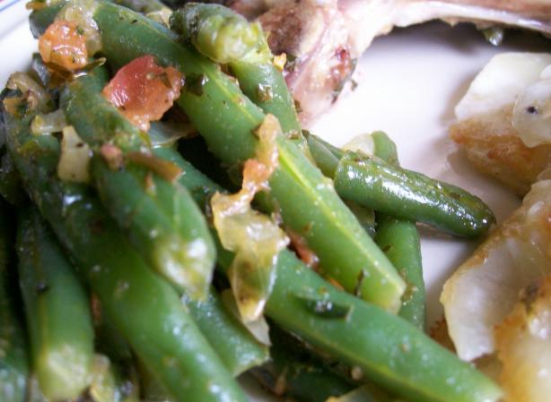 String Beans / Feijao Verde Ou Carrpato Guisado
