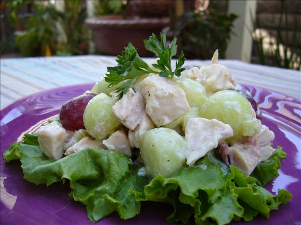 Chicken and Melon Salad (Honeydew)