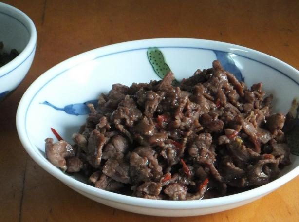 Szechuan Shredded Beef