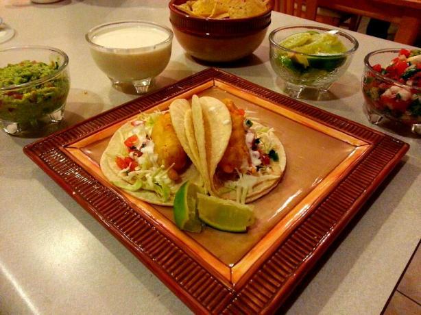 Copycat Rubio's Fish Tacos