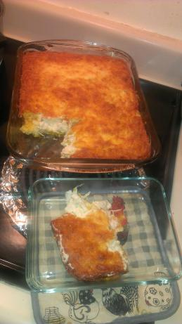 Chicken Suiza Cornbread Bake