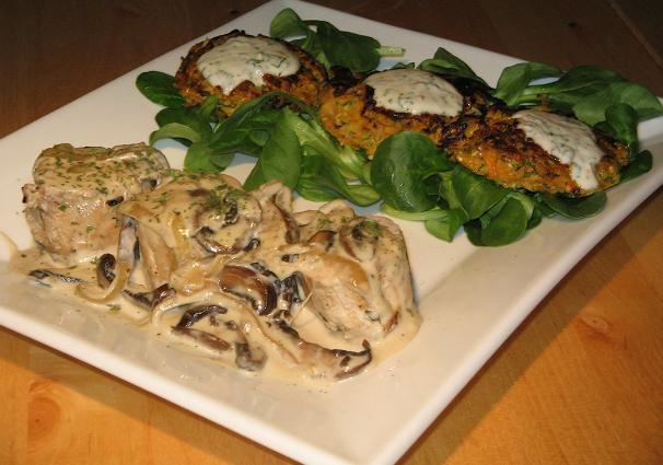 Pork Aux Champignons (French Pork With Mushrooms)