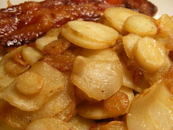 Sauteed Parsnips