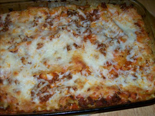 Melissa's Easy Lasagna