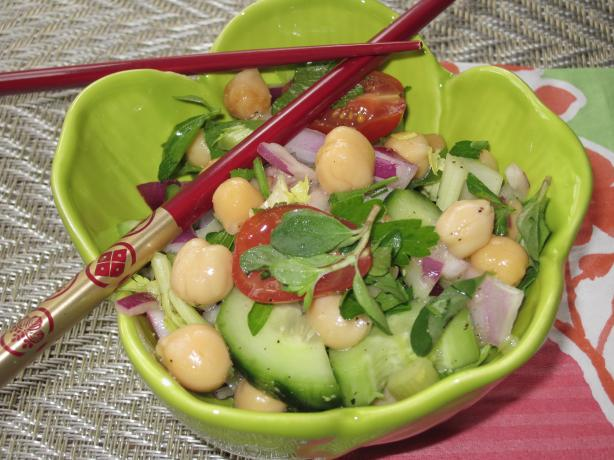 Herb and Chickpea Salad