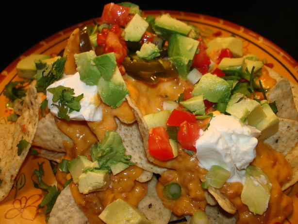 Kicked-Up No-Bake Nachos