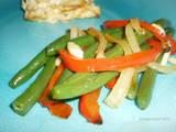 Almond Pepper Green Beans