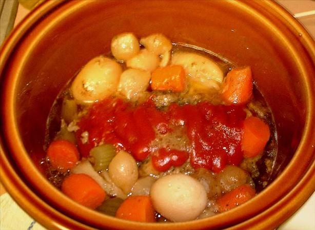 Darrell's Crock Pot Meatloaf