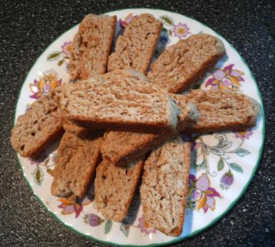Diabetic Dunking Biscotti