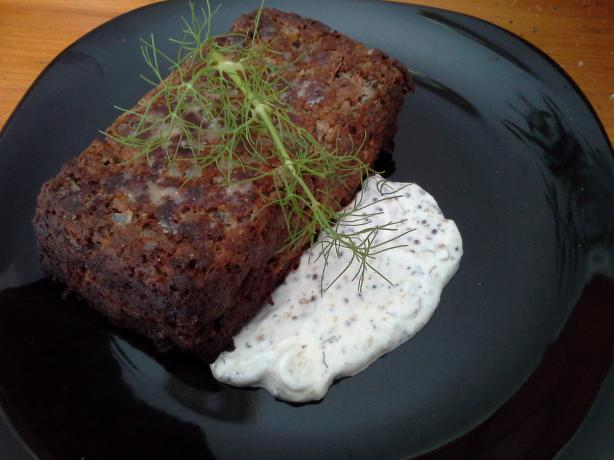 Meatloaf With Mustard-Dill Sauce