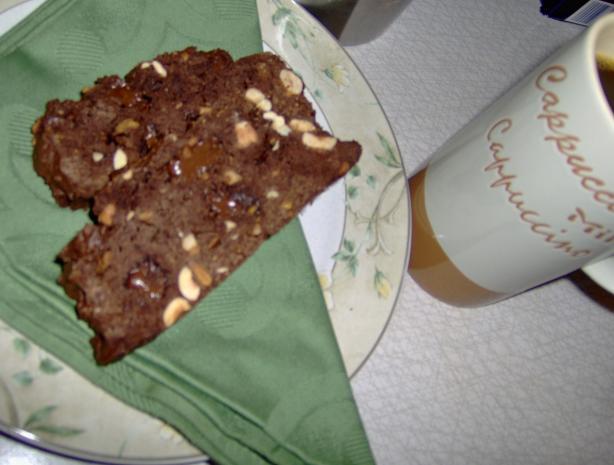 Milk Chocolate Biscotti