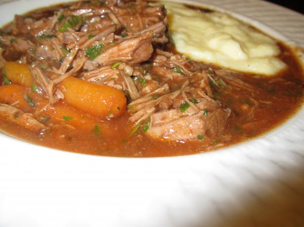 Polenta Meat Stew