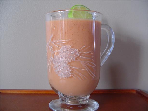 Tomato-Yogurt Breakfast Cocktail