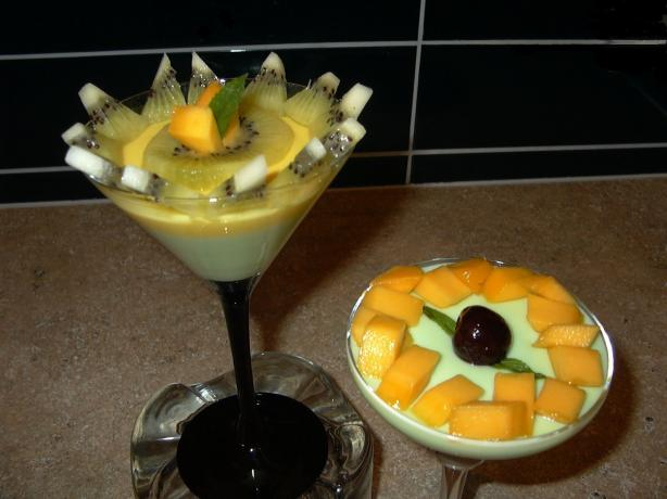 Yoghurt and Mango Mousse