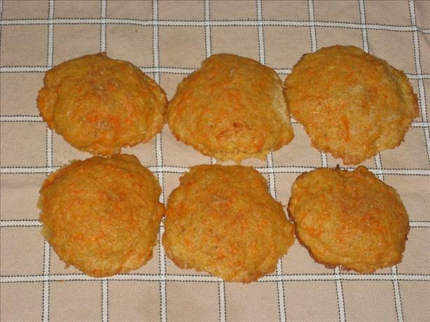 Carrot Cookies With Besan