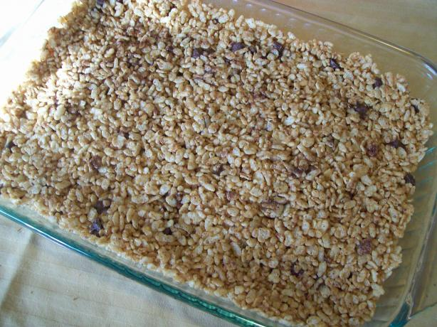 Alternative Rice Crispy Treats