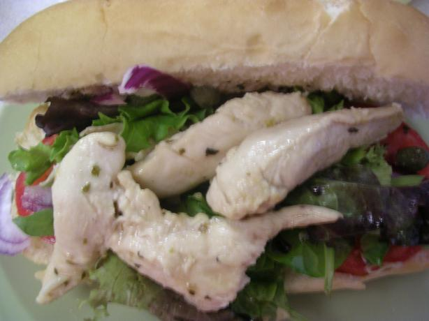 Grilled Chicken Pan Bagnat