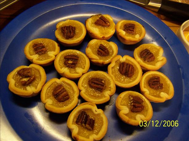 Pecan Pumpkin Tartlets