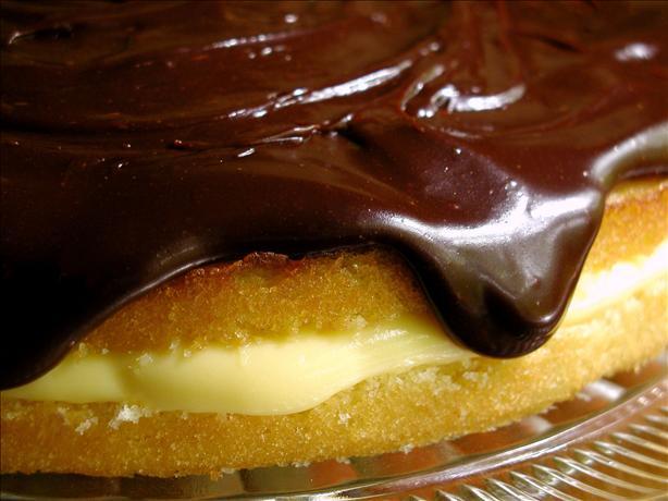 San Francisco Meets Boston Cream Pie