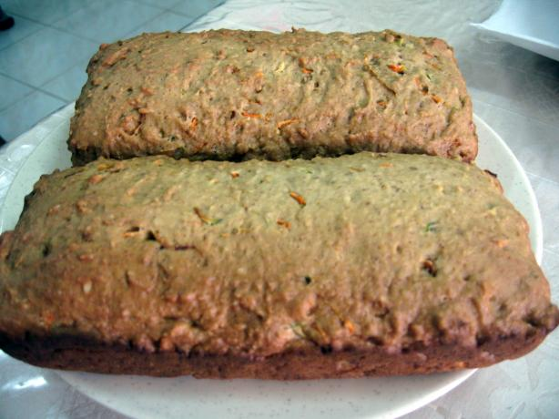 Carrot-Zucchini Loaves