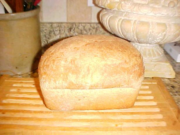 Light Wheat Bread (Bread Machine)