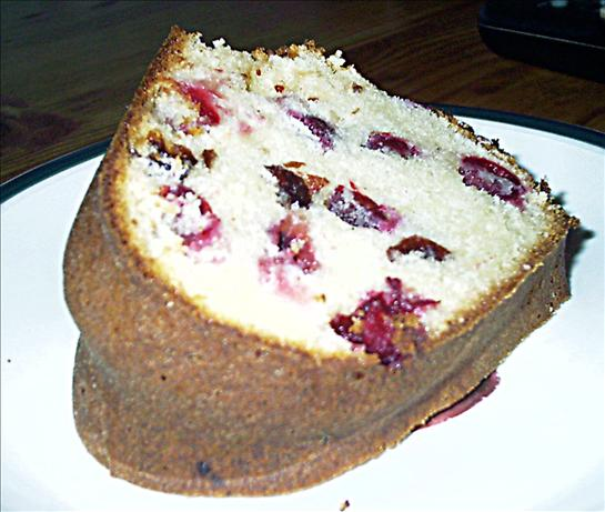 Cranberry-Almond Pound Cake