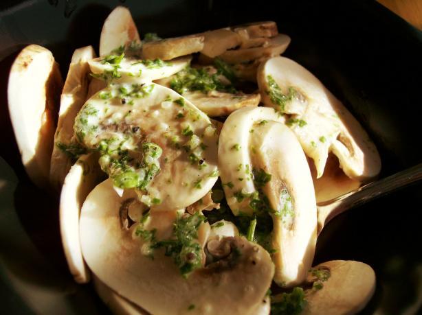 German Mushroom Salad
