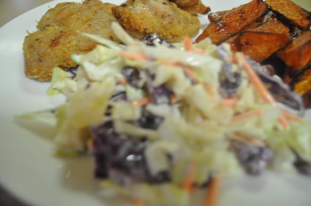 Pinepple and Craisen Cole Slaw