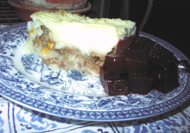 Poor Man's Shepherd's Pie