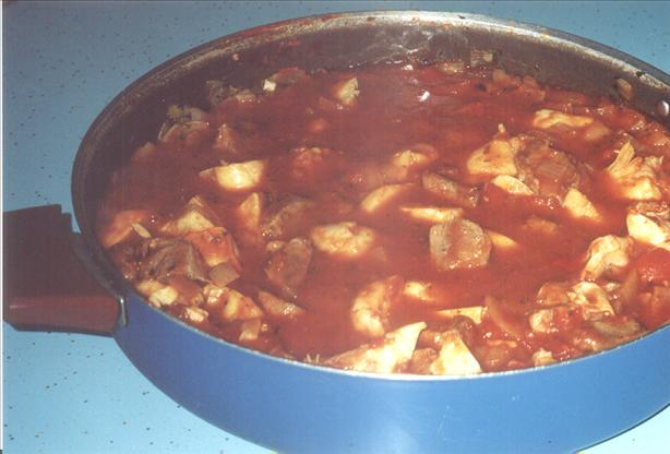 Lamb, Artichoke and Tomato Stew