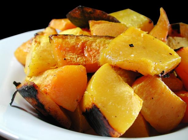Garlic Roasted Pumpkin