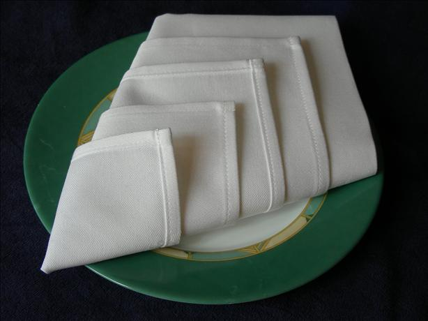 Serviette/Napkin Folding, Easy Make-In-Advance