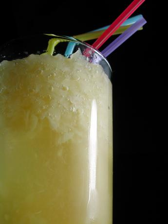 Pineapple Ginger Beer Floats